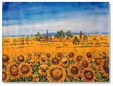 Cuchilla de girasol moderno pintura