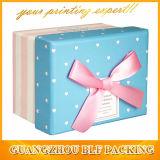 Boîte cadeau papier dur (FLO-go090)