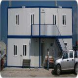 Casa prefabricada ligera de la estructura de acero para el dormitorio de los trabajadores