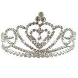 Rhinestone величественного карнавального шествия28-111124 Tiara Короны (НС)