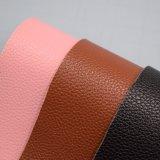 Materiale di cuoio sintetico dell'unità di elaborazione del grano del litchi per i sacchetti dei pattini decorativi