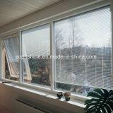 Gli otturatori di alluminio hanno motorizzato costruito in doppio vetro vuoto per la finestra o il portello