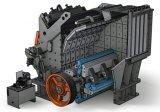 Máquina de trituradora de impacto de piedra de alta eficiencia con alta calidad (PF1010)