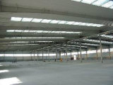 Oficina/armazém rápidos da construção de aço da luz da instalação