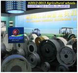 Tutte le rotelle d'acciaio agricole di serie per il trattore