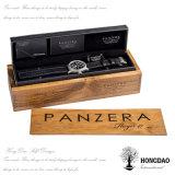 Casella di legno di Hongdao, contenitore di legno non finito di vino con il disegno di marchio