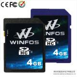 Het Ontwerp van het Octrooi van Winfos, 4GB de Kaart van SDHC, Klasse 6