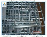 Contenitore piegante della rete metallica di memoria resistente con i separatori