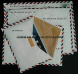 sac de caisse de poche de chemise du tyvek 10 '' 11 '' 13 '' 15 '' 17 '' pour la tablette PC