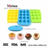 Molde de silicona reutilizables para la cocción