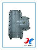 PVCによって修理されるクランプ肘修理のための90度