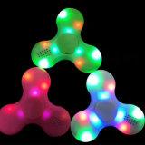 2017 새로운 LED 세 배 방적공 Bluetooth 무선 스피커 음악 싱숭생숭함 방적공