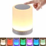 Control Bluetooth Smart Touch sensor LED portátil de música de la luz de noche