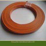 Bordure foncée personnalisée de PVC pour des pièces de meubles