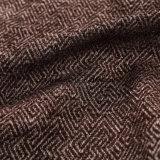 2018 Brown geométrica de tela gruesa para la Presidencia con cola