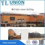 La construcción de la estructura de acero pintado Pre-Engineered/acero Marco para la fabricación de acero