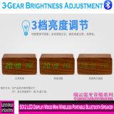 5012 Madeira visor LED Mini Alto-falante Bluetooth portátil sem fio