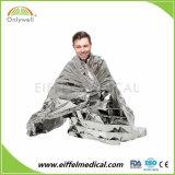 Медицинские спасения для использования вне помещений первой помощи теплое одеяло в чрезвычайных ситуациях серебристого цвета