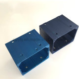 CNC die van uitstekende kwaliteit de Delen van het Aluminium met het Anodiseren van de Kleur Oppervlaktebehandeling machinaal bewerken