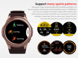 Intelligentes Uhr-Telefon des Qualität L1 GPS WiFi 3G WCDMA Vierradantriebwagen-Band Android-5.1