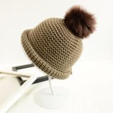 Bouchon d'hiver Quility Fashion Hight Lady Cap