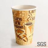 Gedrucktes Vending heißer Kaffee-Papierwegwerfcup