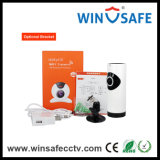 IP小型WiFiの監視のOnvif 2.2の視野の無線ホームセキュリティーのカメラ