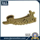 Buon distintivo del metallo del cliente di prezzi con la placcatura antica