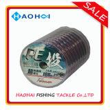 強い品質の海釣のタックルの多色刷りの10メートル1カラーPEライン採取ライン