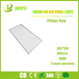 Großhandels-SMD4014 eingehangene Oberflächeninstrumententafel-Leuchte 24W 300*600 80lm/W des Aufflackern-frei LED mit Cer, TUV, SAA