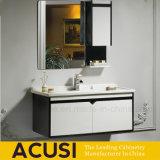 Шкаф ванной комнаты переклейки лака мебели Foshan установленный стеной (ACS1-L47)