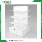 Unidades laterais do Shelving da gôndola da parede