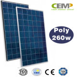 Modulo solare policristallino alta tecnologia 260W di Cemp per le soluzioni residenziali di potere
