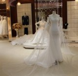 Maßgeschneidertes Kleid für Braut-Hochzeits-Kleid