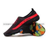 Популярный стиль Aqua Шлепанцы босиком йога обувь купаться обувь кожа обувь