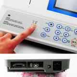 machine de l'affichage à cristaux liquides ECG de couleur de 5-Inch 3-Channel - Martin