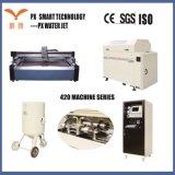 Chorro de agua CNC maquinaria de corte de cerámica