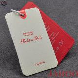Rótulos de alta qualidade para pendurar as etiquetas de papel personalizado de vestuário