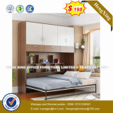 Tipo de espelho de Guangzhou Pobre elegante cama de Contraplacado (HX-8NR0880)