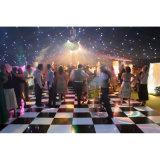 Étages de danse portatifs en gros noirs et blancs de mariage de Dance Floor