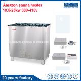 Stufa asciutta di sauna del riscaldatore di sauna del vapore di marca del Amazon per uso commerciale