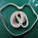 Sin Fisuras de teflón resistente a altas temperaturas el aislamiento de la correa de especial el equipo de la cinta de sellado