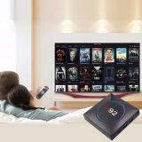 I92 androide IPTV Chips 2g DDR 16g Emmc 4K des Fernsehapparat-Kasten-Felsen-Chip-3229 mit Netflix 2.4G WiFi Fernsehapparat-Kasten 2017 Media Player