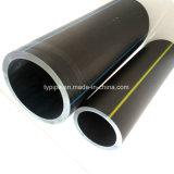 tubo negro del suministro de gas del PE de 630m m
