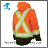 Мужчин и отражающей Parka Workwear куртка