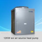 Type d'Evi de pompe à chaleur de l'eau d'air pour le chauffage et la climatisation de Chambre