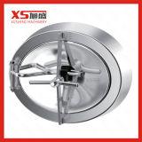 Spiegel-Polierdruck-Kreiseinsteigeloch-Deckel mit Anblick-Glas