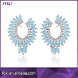 AAA CZ камня 18k позолоченными контактами очарование Earring мода для девочек-участник