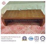 Einfache Hotel-Schlafzimmer-Möbel mit hölzernem Bett-Prüftisch (YB-E-1)