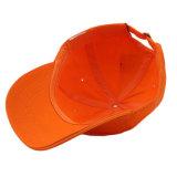 공백 주문 자수 로고 판매를 위한 주황색 야구 모자